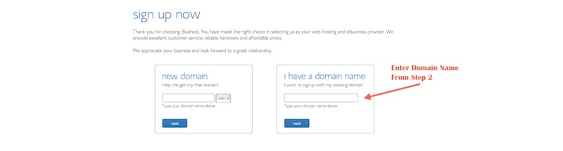 how to start a blog - choose a domain name